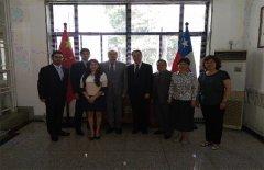科技外交官志愿服务平台拜访智利驻华使馆